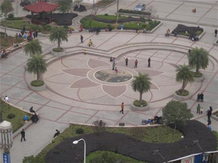 蔡和森广场