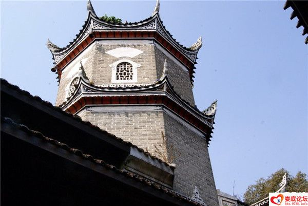 洋溪文昌阁尖塔