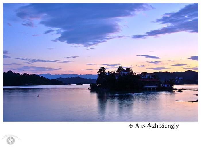 白马湖夜景