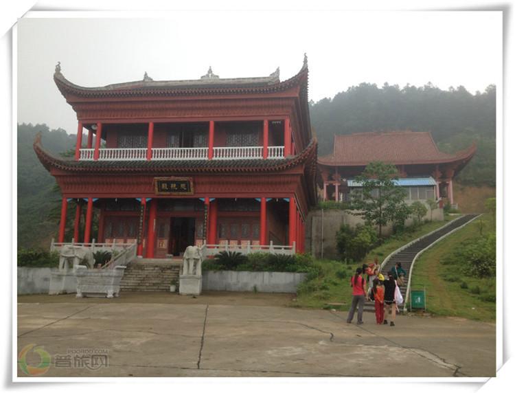 仙女峰的寺庙
