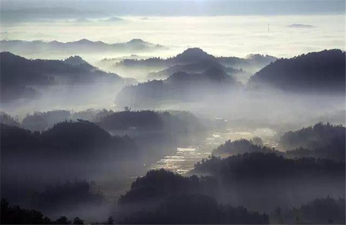 白马水库风景
