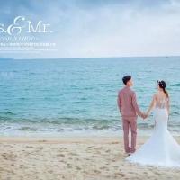 玫瑰海岸精美浪漫婚纱摄影