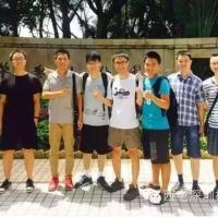 和深圳校友一起去笔架山健走,很不多的户外活动!