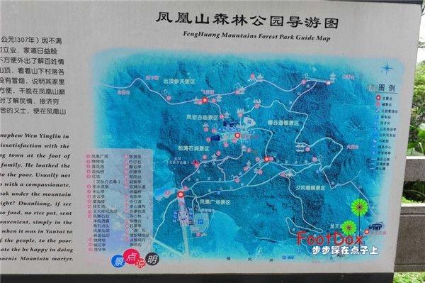 爬凤凰山游记:从凤凰山黄麻布村登山道、经凤凰绿道登顶